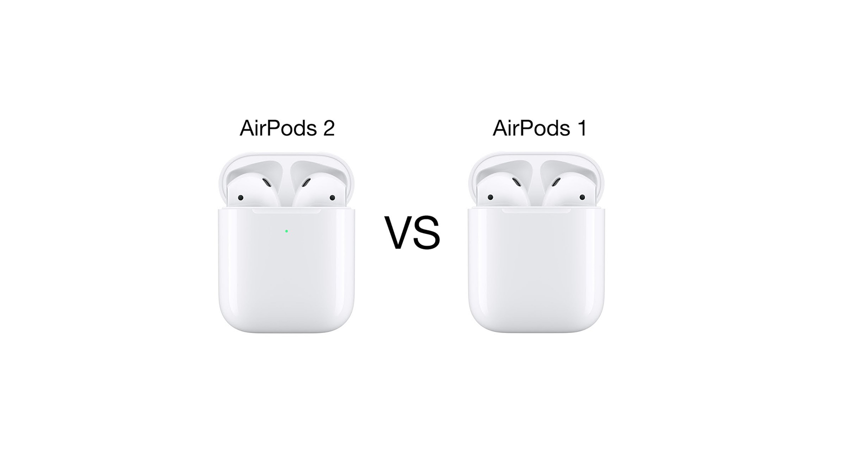 airpods 1 vs airpods 2, new airpods, uued airpods, juhtmevabad kõrvaklapid, apple kõrvaklapid, apple airpods, mobipunkt kõrvaklpaid
