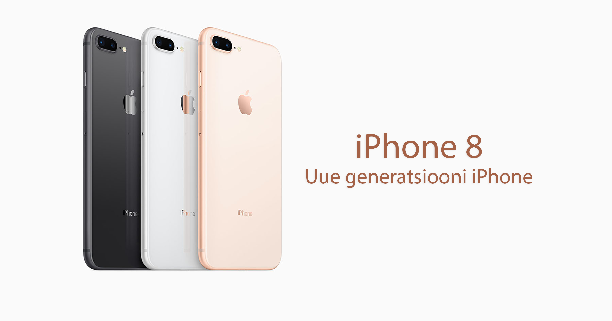 iphone 8 iphone 8 plus new iphone uus iphone new generation iphone apple mobipunkt ipad wacth  macbook  iphone 8 hind iphone 8 müük