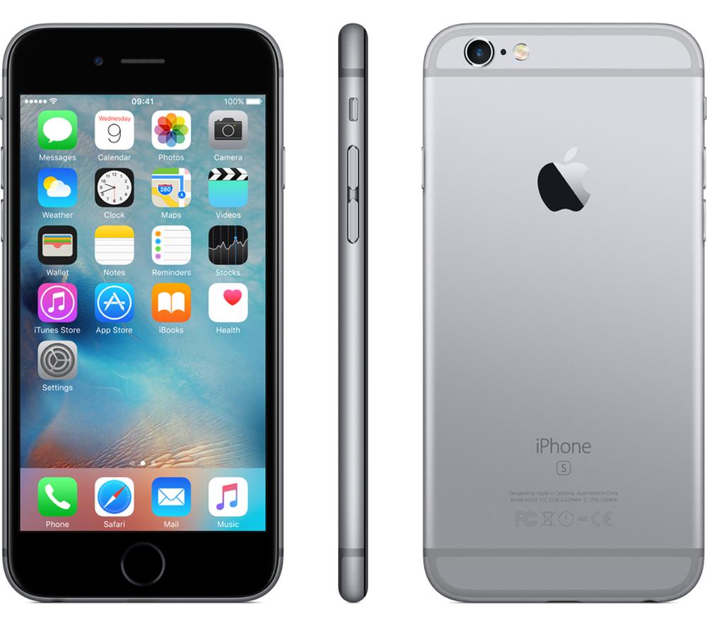 Айфон 6s 128 гб цвет space grey